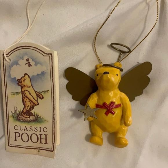 Classic Pooh - Disney ornament Angel Pooh